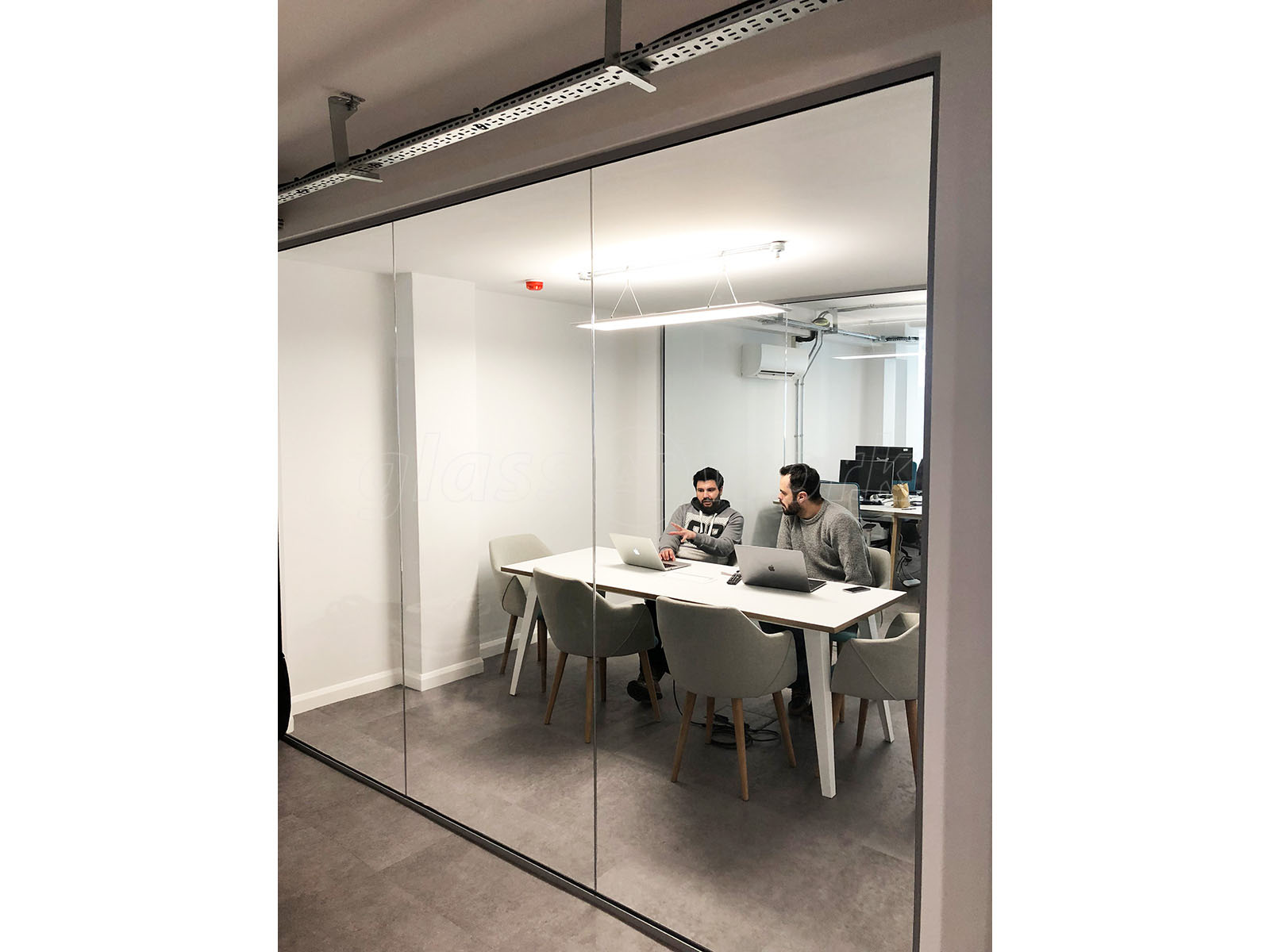 Glass Partitions At Mb Cable Ltd Brighton East Sussex