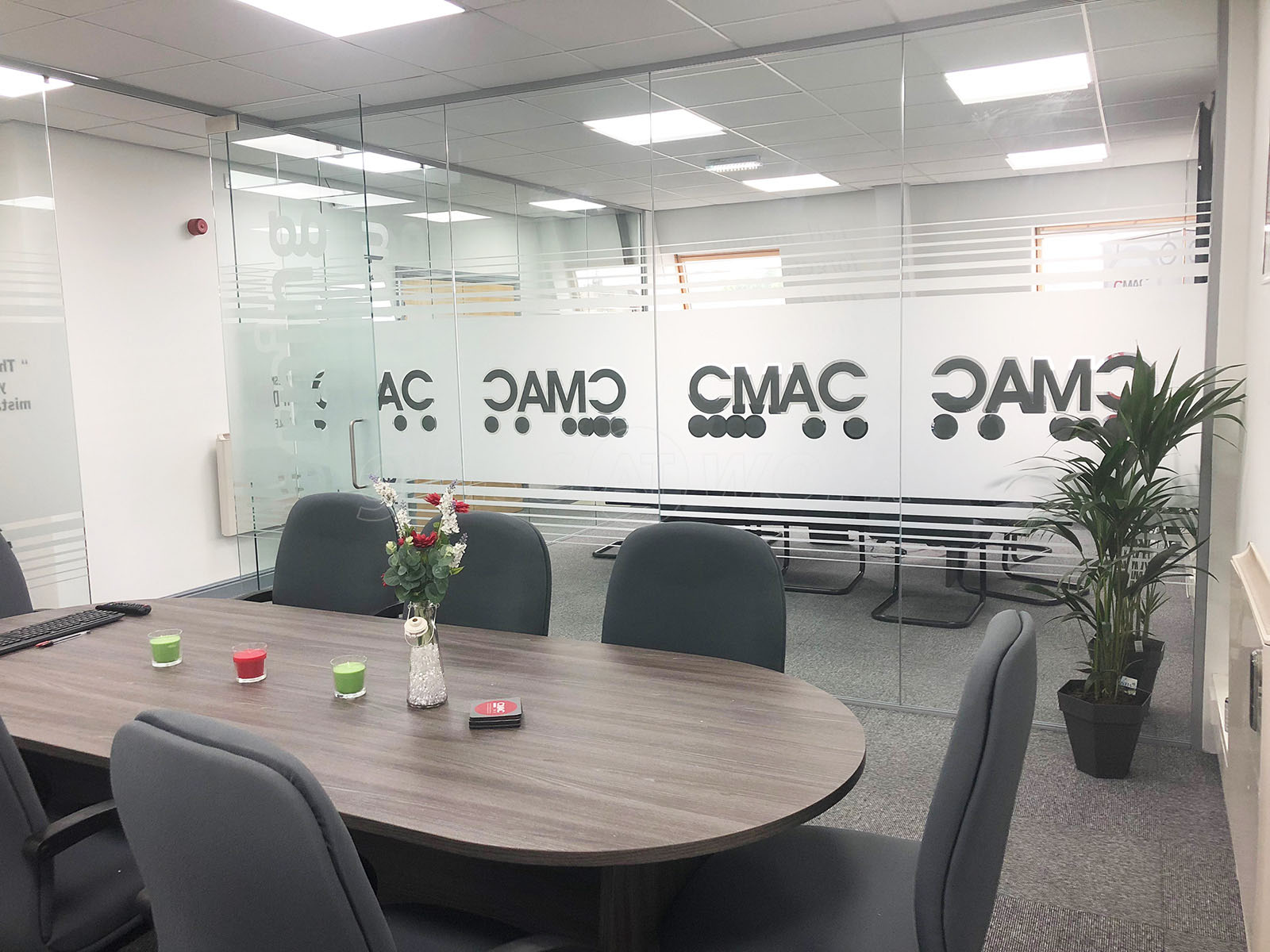 Cmac Partnership Ltd (Accrington, Lancashire) Multiple Glazed Office Rooms