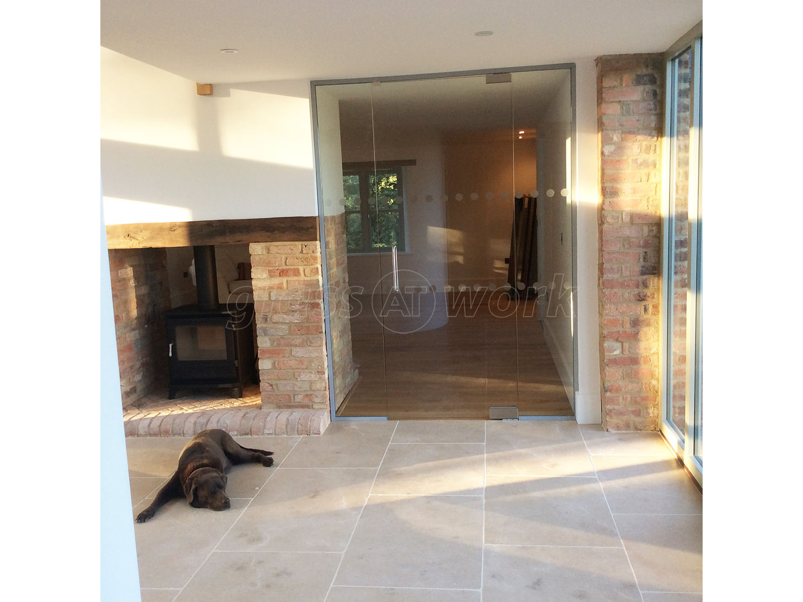 Glass Partitions At Martin Haynes Construction Domestic Towcester