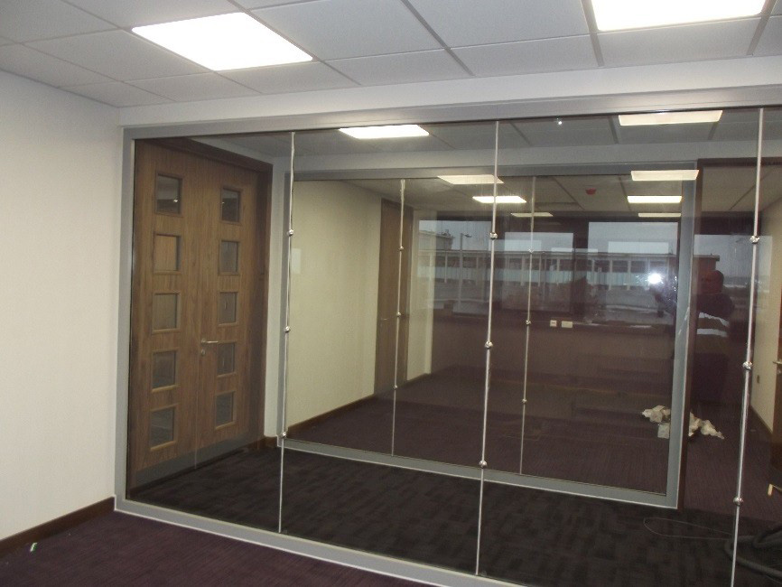 30 fire rated steel framed glass partitioning 3030 fire rated steel framed glass partitioning planetlyrics Gallery