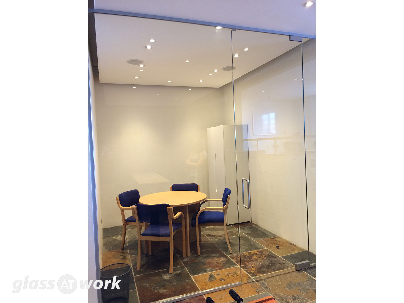 Altair Ltd (London) Small Glass Partition And Door