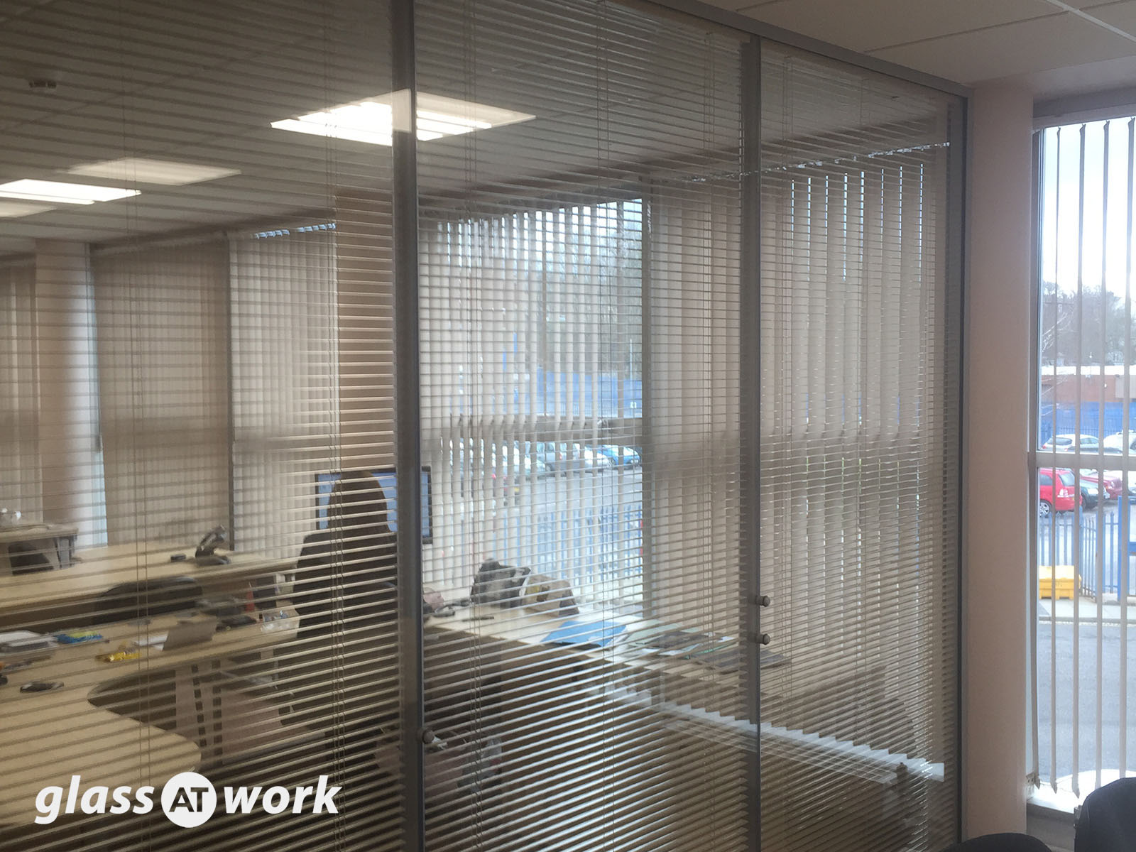 Glass Partitioning At Complete Construction Lancashire
