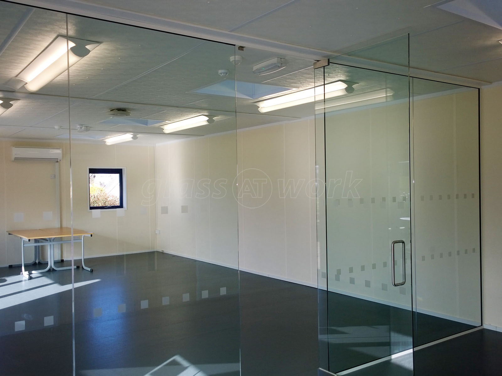 Petroc College (Barnstaple Devon) Frameless Glass Wall and Door & Glass Partitioning at Petroc College (Barnstaple Devon): Frameless ...