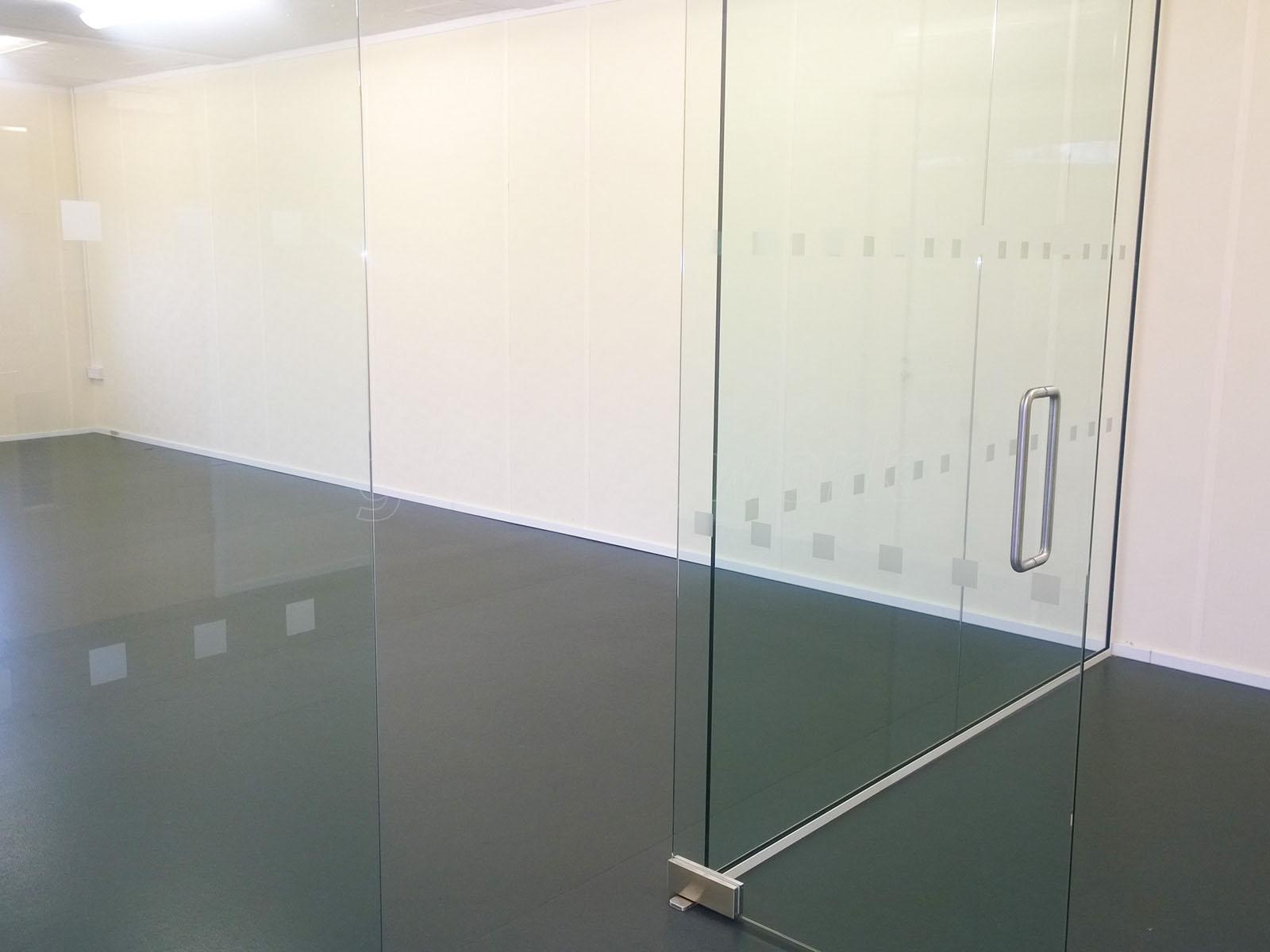 Petroc College (Barnstaple Devon) Frameless Glass Wall and Door & Glass Partitioning at Petroc College (Barnstaple Devon ...