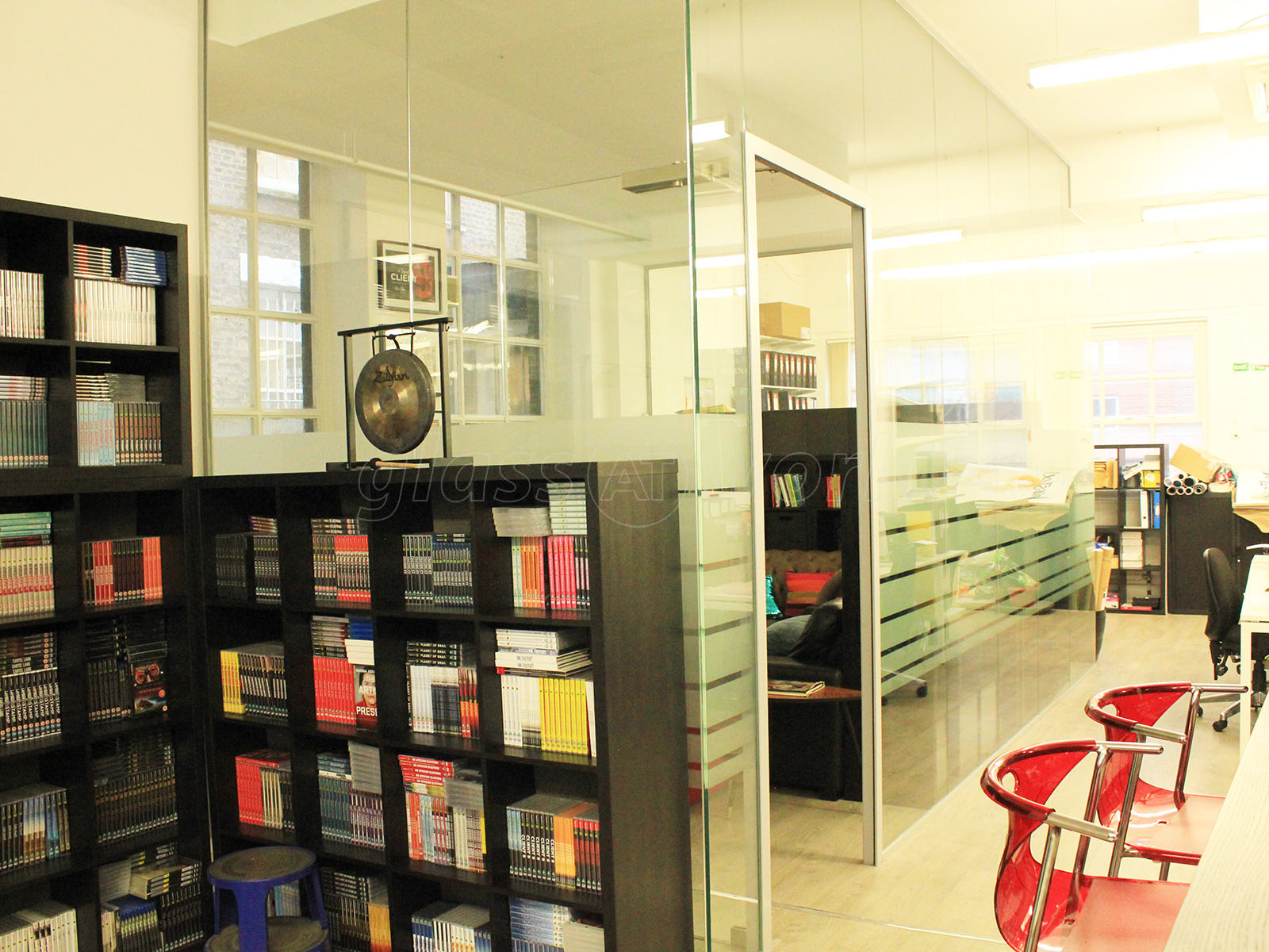 Glass Partitions at Dogwoof Ltd (Islington, London): Glass Office ...