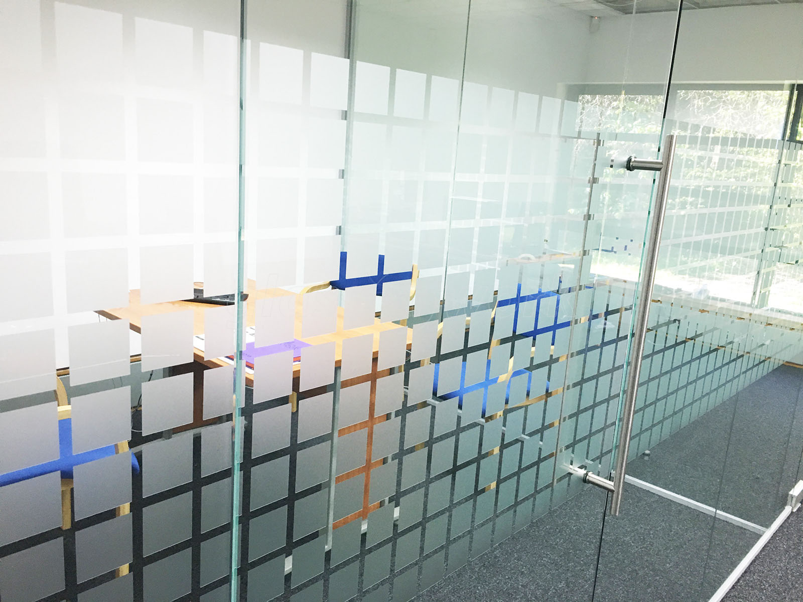Glass Partitioning At Park Gate Mortgage Protection Ltd