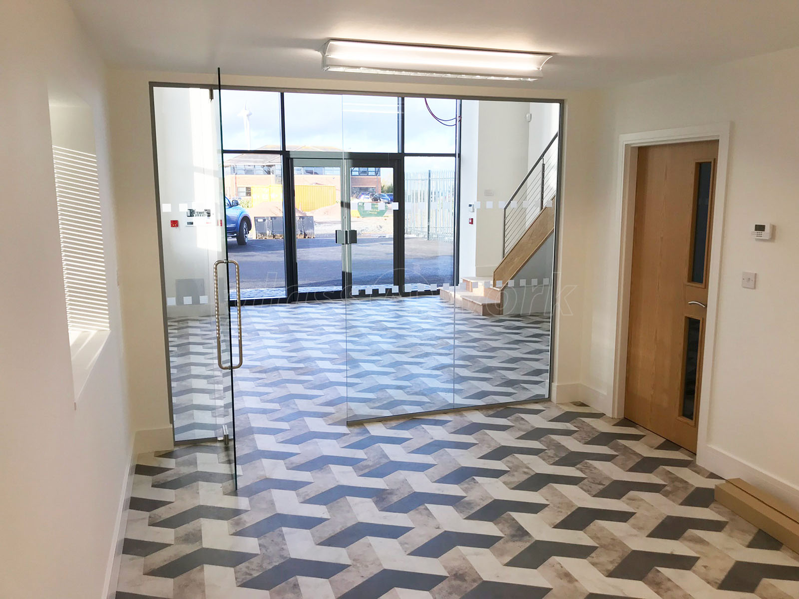 GMC Building Contractors Ltd (Northumberland): Interior Glass Walls And  Doors