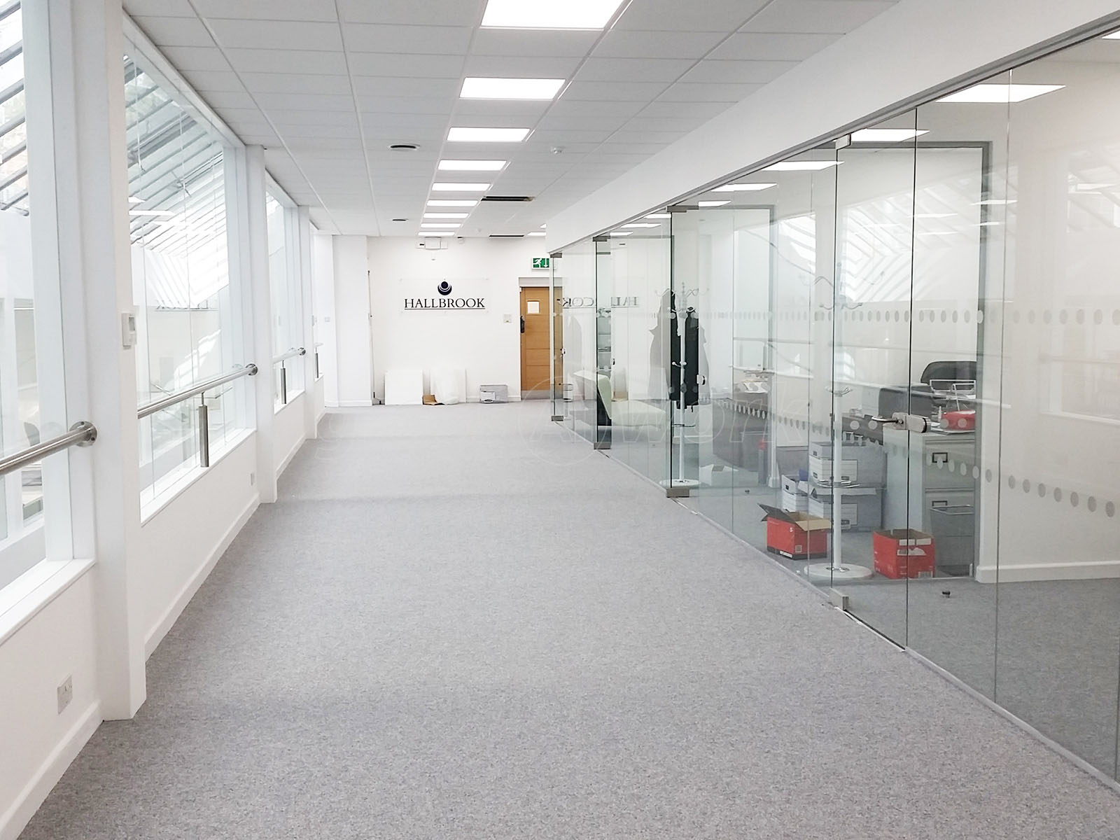 Glass partitioning at peak pennine properties ltd for Interior design agency nottingham