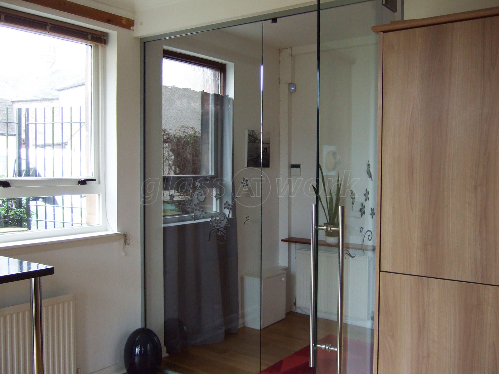 Domestic Project (Musselburgh Scotland) Glass Partition & Glass Partitioning at Domestic Project (Musselburgh Scotland ...