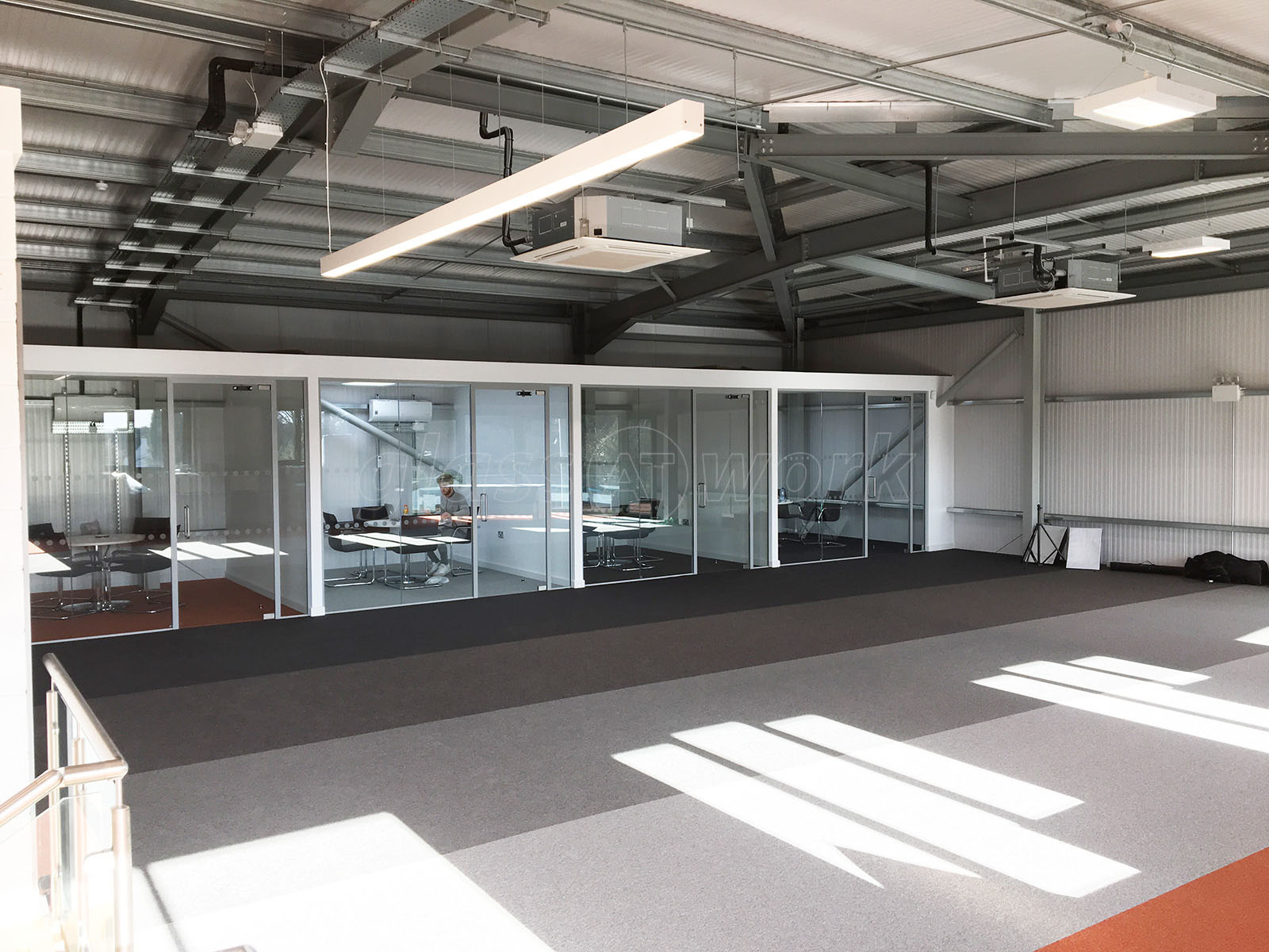 glass partitioning at people hr epworth doncaster