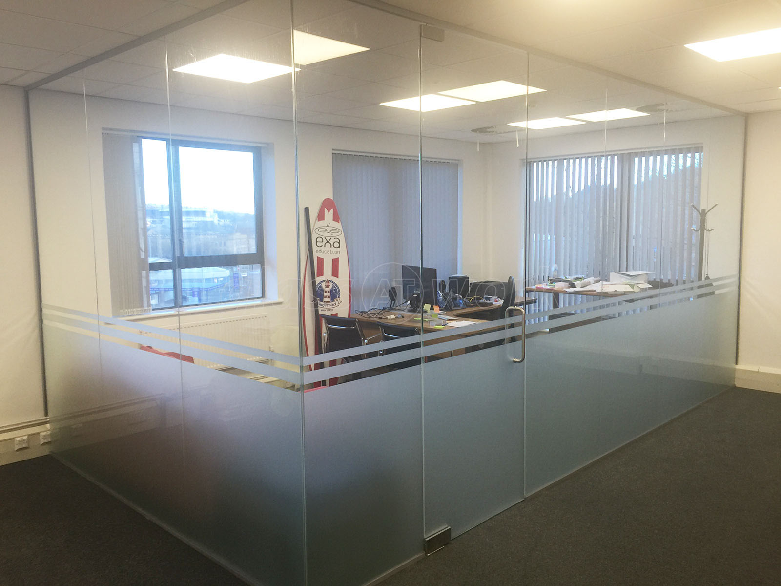 diy office partitions. EXA Networks (Bradford, West Yorkshire): Glass Partitions Diy Office
