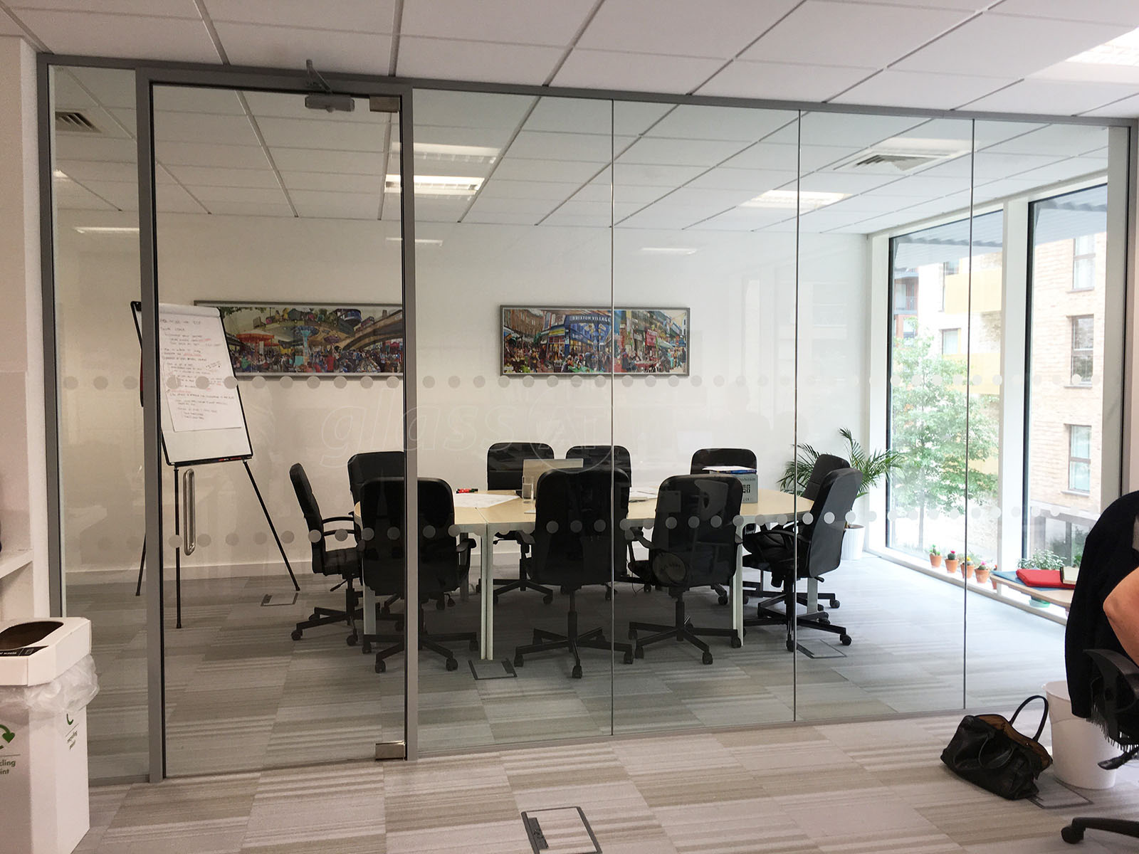 Glass Partitioning At Wendy Fisher Consulting London Acoustic