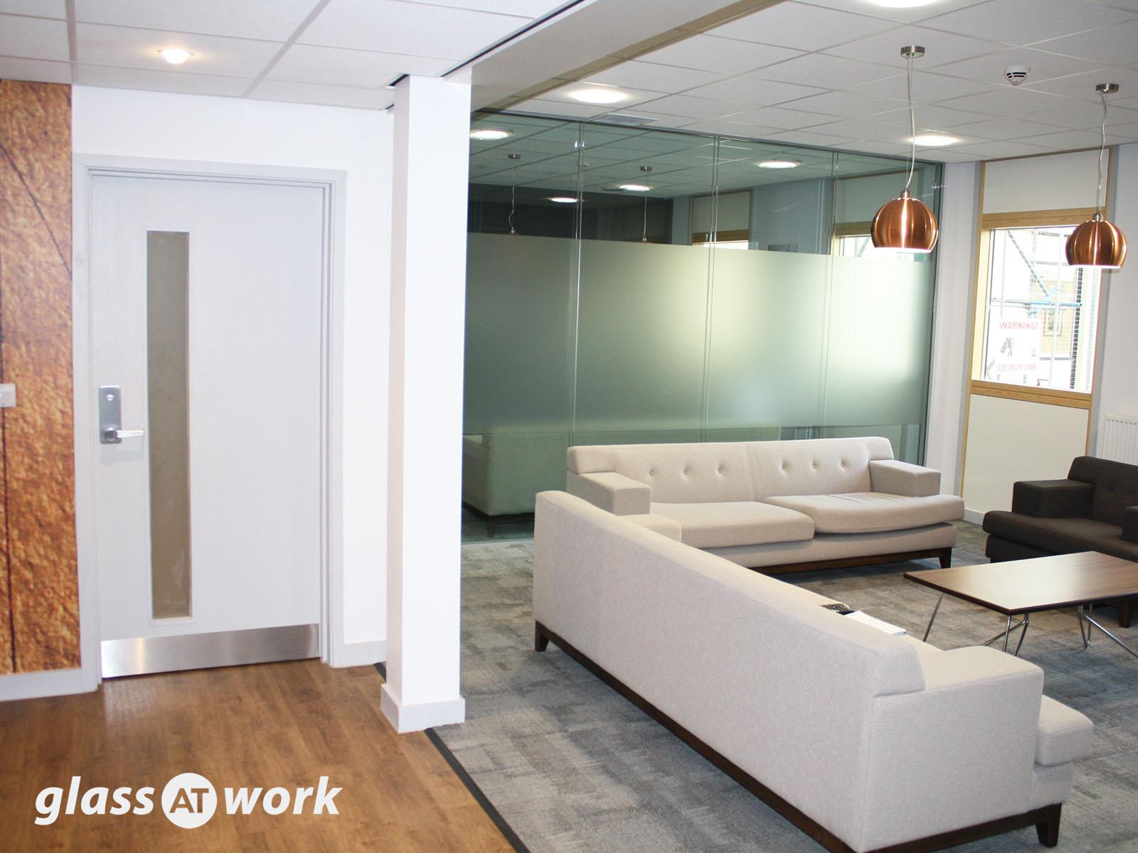 office partition design ideas. Acoustic Double Glazed Glass Office Partitioning Partition Design Ideas