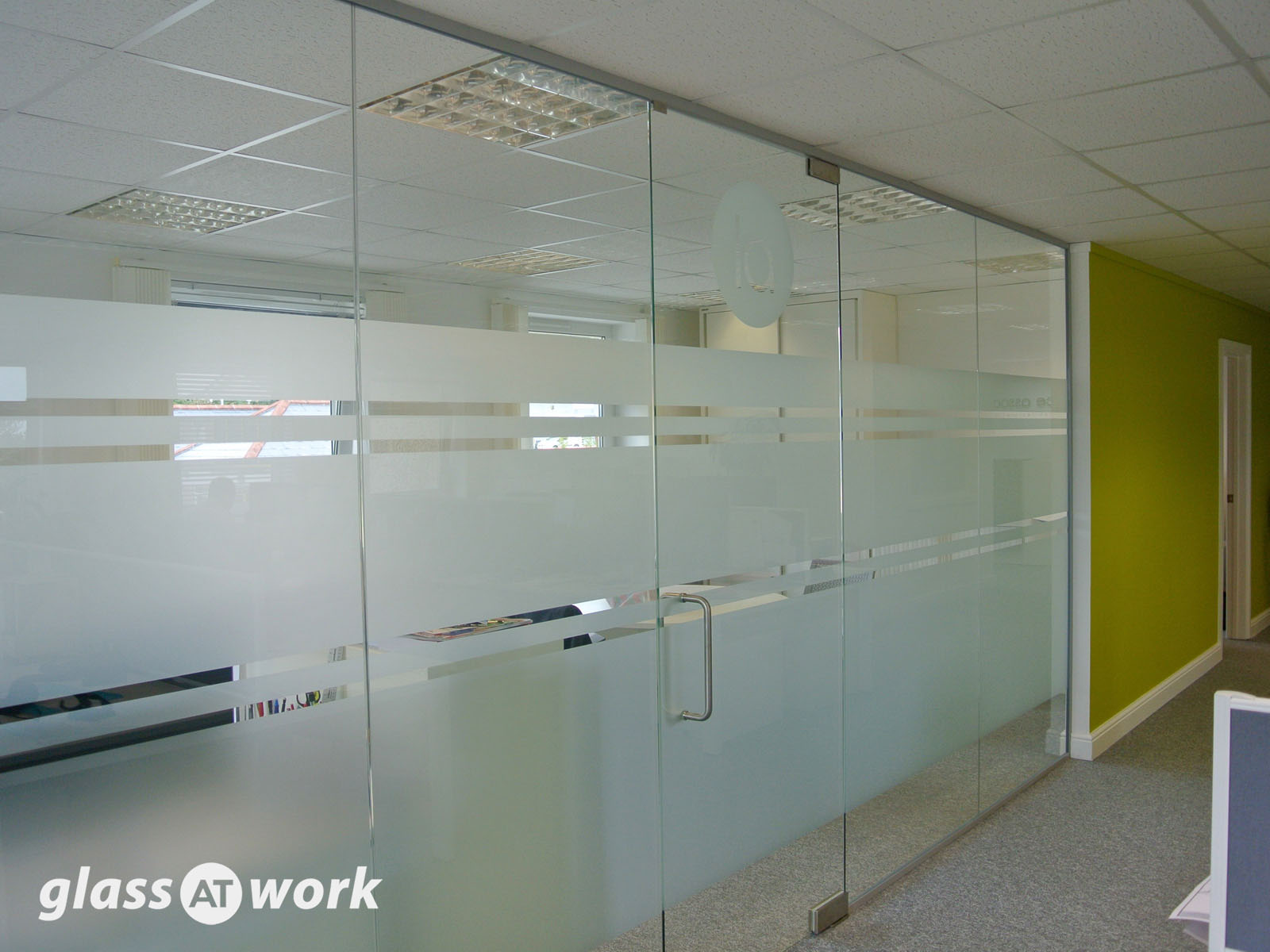 interior office partitions. Single Glazed Frameless Glass Office Partitioning Interior Partitions