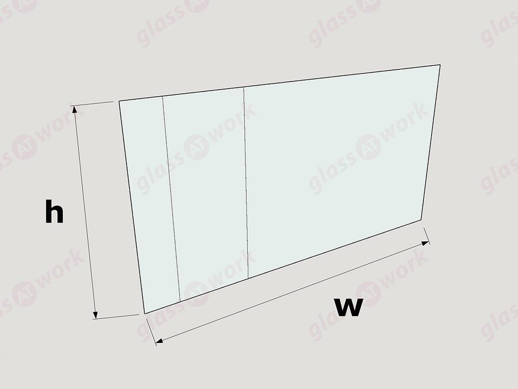 Fire rated glass office doors - Layout Diagram