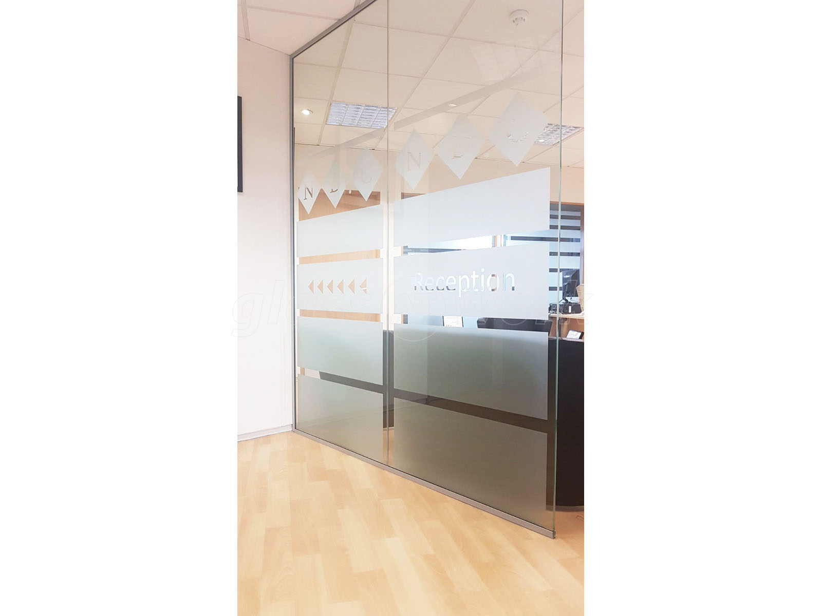Glass Partitioning At National Design Consultancy Leeds