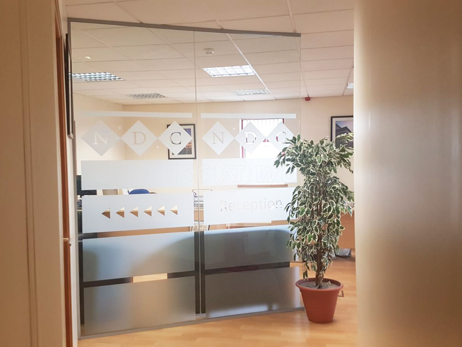 Glass partitioning at national design consultancy leeds for Office design west yorkshire