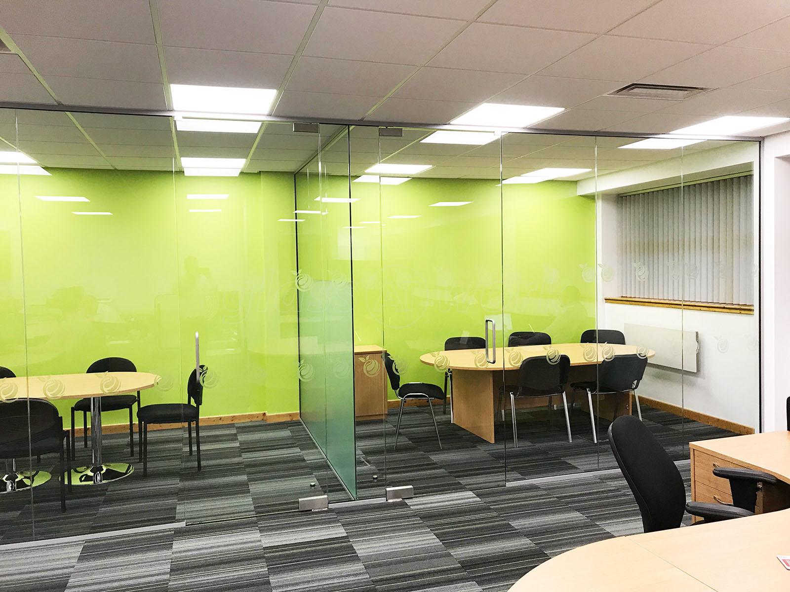 Glass Partitioning at Citrus Mortgages (Milton Keynes): T-Shape ...