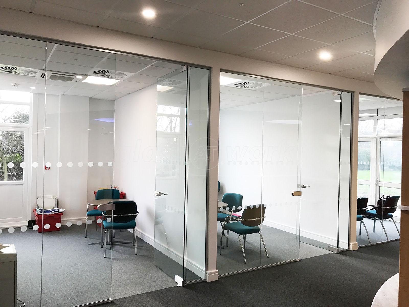 office glass door glazed. Leisure Technique Ltd (Hull, East Yorkshire): Single Glazed Glass Office Partitioning Door