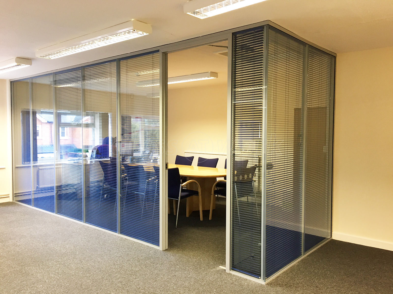 glass partitioning at streatley software ltd  reading