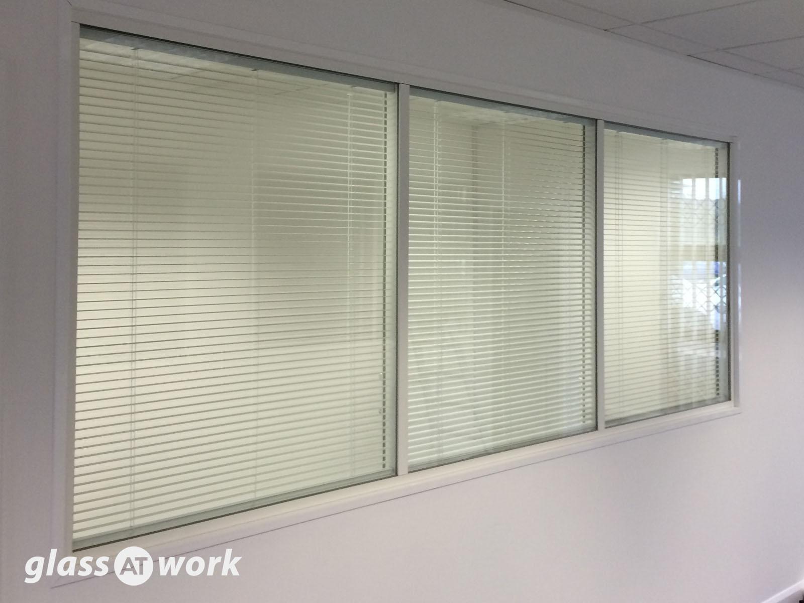 office glass windows. Double Glazed Frameless Glass Office Partitioning Windows