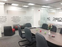 We have used Glass at Work for 2 projects and they have been great. The fitters were really friendly and the installation was seamless. Karen Lyth - CMAC Partnership Ltd (Accrington, Lancashire)