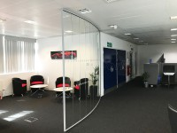 I would highly recommend Glass at Work. Their service was excellent and the installation team very efficient and tidy! David Kirrane - SBD Automotive (Milton Keynes, Buckinghamshire)
