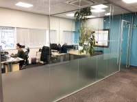 The results have totally transformed our office space, and the acoustic glass, makes a real difference to the noise transfer throughout the main office. Ian Richardson / Paul Callaghan - GFD Trading Limited (Billingham, Cleveland)