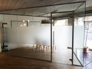 Acoustic Single Glazed Glass Partitioning