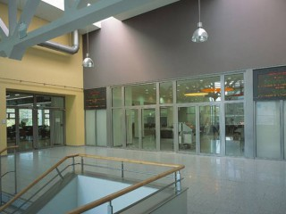Exposed Rail Sliding Frameless Glass Doors