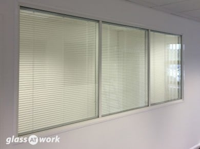 Glass Partitioning At Vish Construction Oxford Double