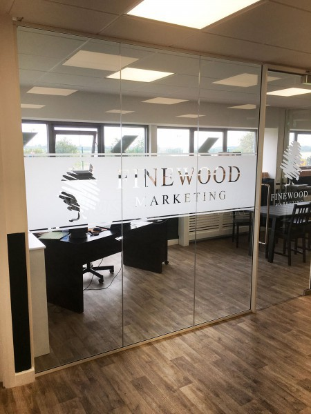 Finewood Marketing [UK] Ltd (Chesterfield, Derbyshire): Toughened Glass Office Walls & Doors