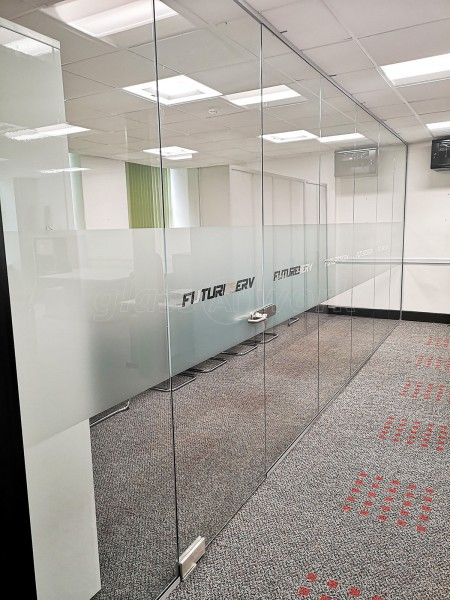 FUTURESERV Ltd (Central Liverpool, Merseyside): Toughened Glass Partition Office Divider