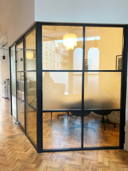 Harbour Family Law (Clifton, Bristol): Warehouse-Style Industrial Look Glass Office With Double Glazing