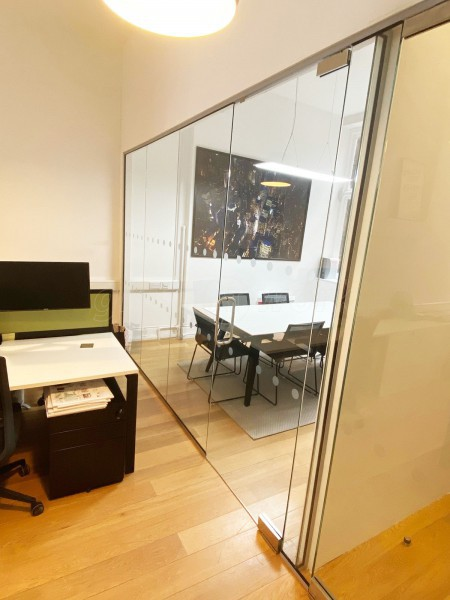 Chilworth Land (Carnaby, London): Office Glass Room Divider Screen and Glazed Door