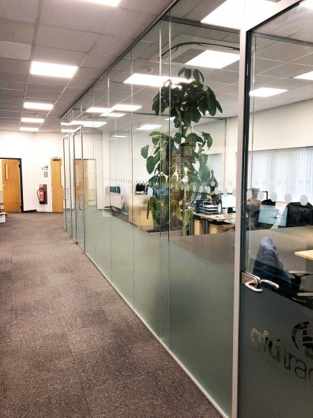 GFD Trading Limited (Billingham, Cleveland): Acoustic Commercial Glazed Office Partition Fit-out