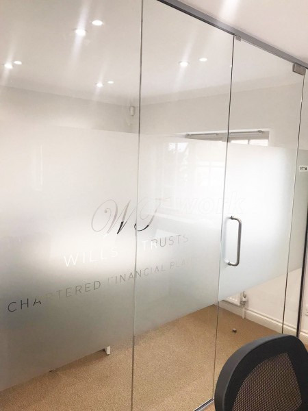BATTS Building & Decorating Ltd (Thame, Oxfordshire): Frameless Toughened Glass Partitions Fully Installed
