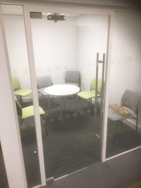 O & P Construction Services Ltd (Sheffield, South Yorkshire): Acoustic Inline Glass Partition Walls with Framed Doors