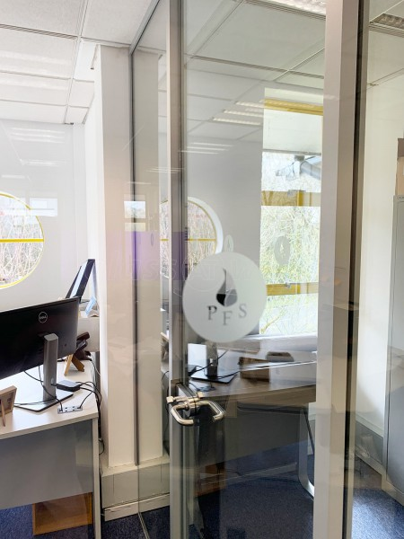 Platinum Fire Solutions Ltd (Farnborough, Hampshire): Acoustic Glass Office Pod And Glazed Screen