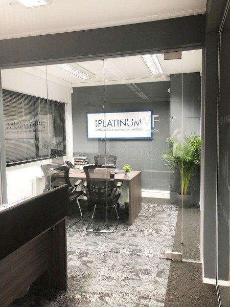 Platinum Management Solutions Ltd (Hyde, Manchester): Frameless Glazed Partitioning To Modern Office Space