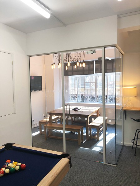 Purr Group (Fitzrovia, London): Acoustic Glazed Corner Room With Framed Door