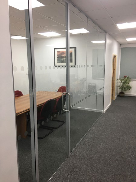 Bruce Roberts & Co Limited (Wrexham, Wales): Glass Office Wall With Soundproofing