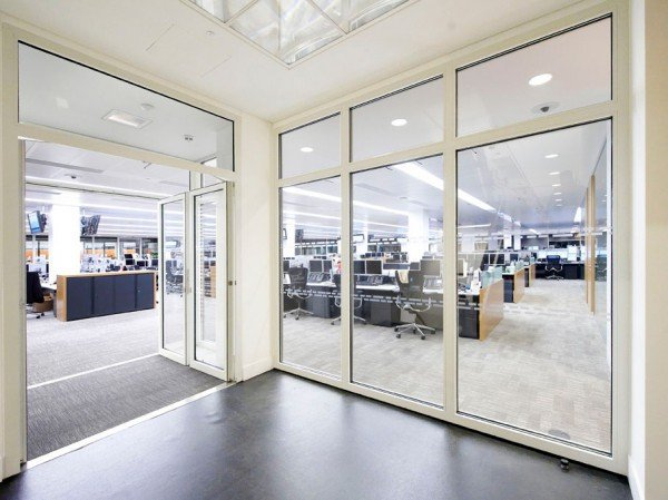 30/00 Fire Rated Steel Framed Glass Partitioning