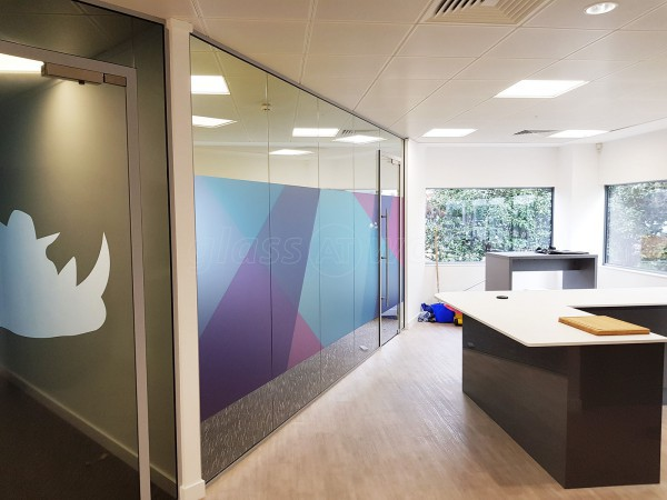 Twogether Creative Ltd (Marlow, Buckinghamshire): Large Glass Office Partitioning Fitout