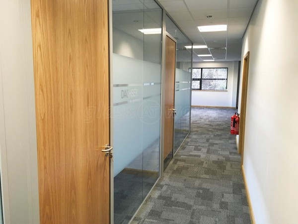 4Front Interiors Ltd (Northampton, Northamptonshire): New Glass Office Fit-Out With Soundproofing & Timber Doors