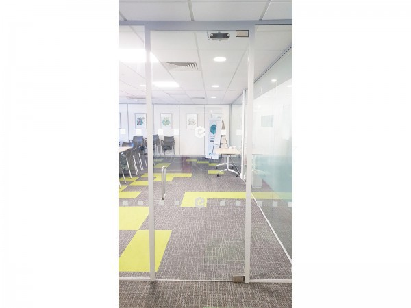 Emerald Group Publishing Ltd (Bingley, West Yorkshire): Frameless Toughened Glass Wall