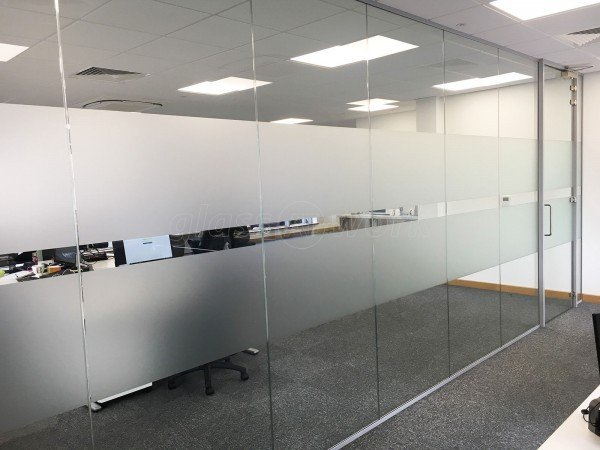 Breedon Consulting Ltd (Ashby de la Zouch, Leicestershire): Glass Office Wall And Door