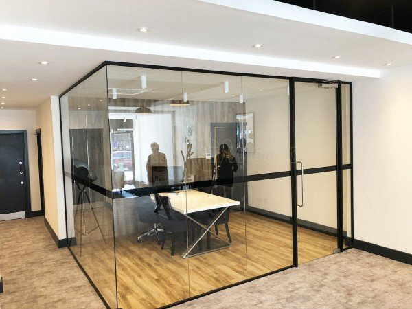 CLS Money Ltd (Rayleigh, Essex): Glazed Corner Office With Black Frame