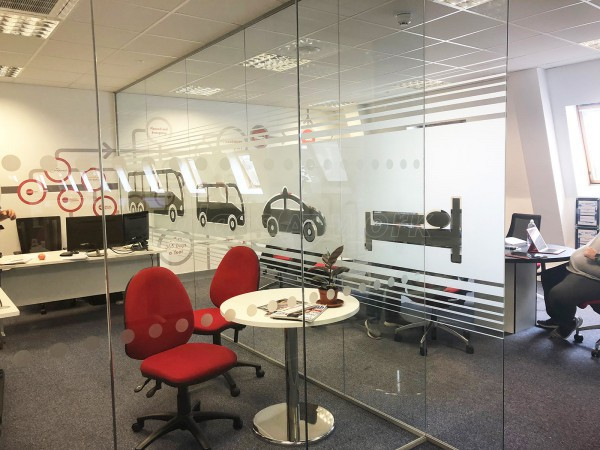CMAC Partnership Ltd (Accrington, Lancashire): Multiple Glazed Office Rooms