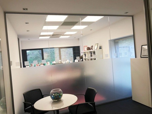 TRILUX Lighting Limited (Chelmsford, Essex): Glazed Office Partition Walls With Frosting